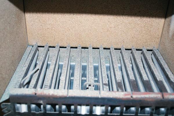 горелка газового котла требует чистки