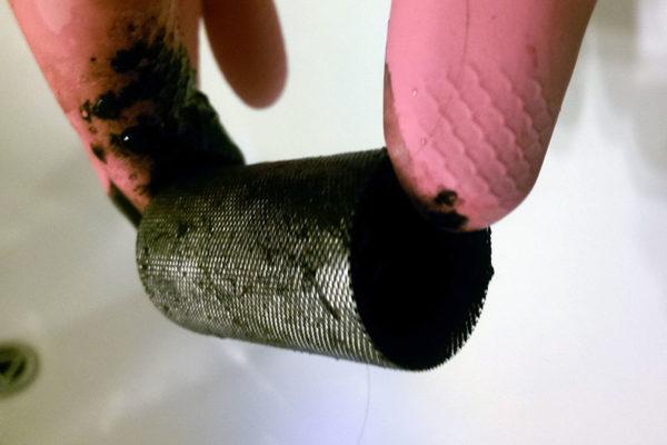 фильтр котла забит